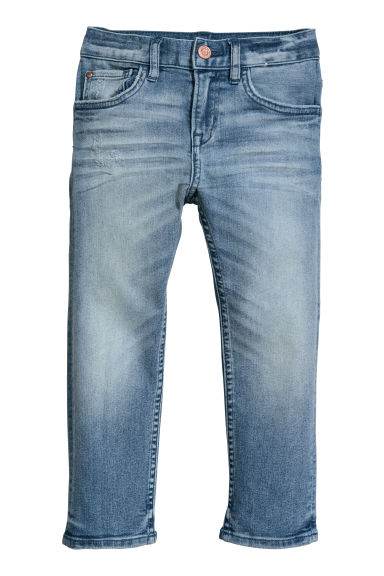 Slim Fit Jeans - Denimblauw - KINDEREN | H&M BE