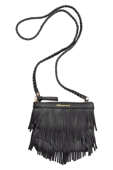 Shoulder bag with fringing - Black - Kids | H&M CN