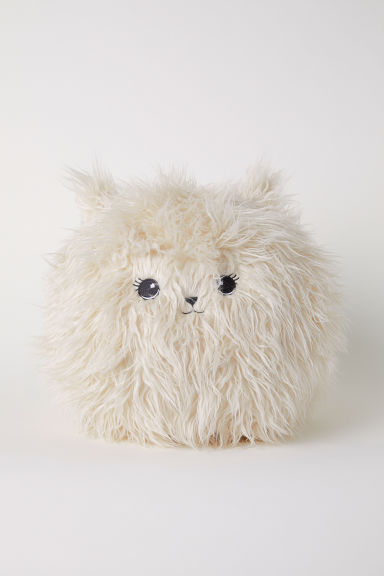 Soft toy cushion - Natural white - Home All | H&M GB