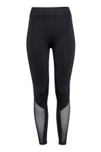 Seamless yoga tights - Black - Ladies | H&M 2