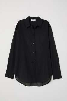 Airy cotton shirt