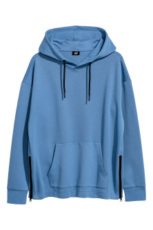 Sweat-shirt à capuche à zips