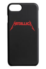 iPhone 6/7 手機殼 - 黑色/Metallica - Men | H&M 1