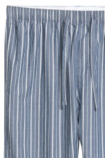Pyjama bottoms - Blue/White striped - Men | H&M GB 3