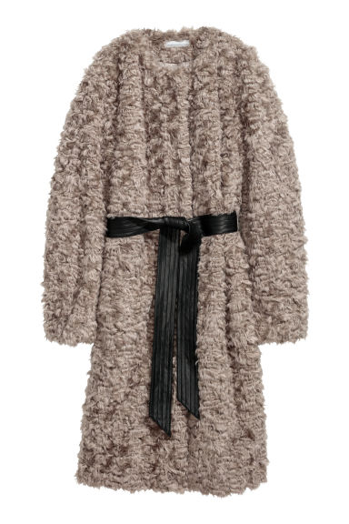 Faux fur coat - Mole - Ladies | H&M