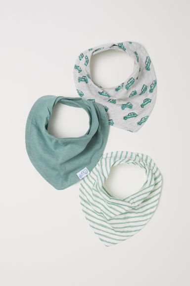 Foulards, lot de 3 - Gris chiné/voitures - ENFANT | H&M CH