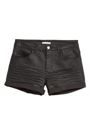 Twill shorts - Black - Ladies | H&M CN 1
