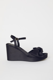 Wedge-heel sandals