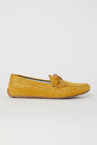 Mocassins - Donkergeel -  | H&M BE