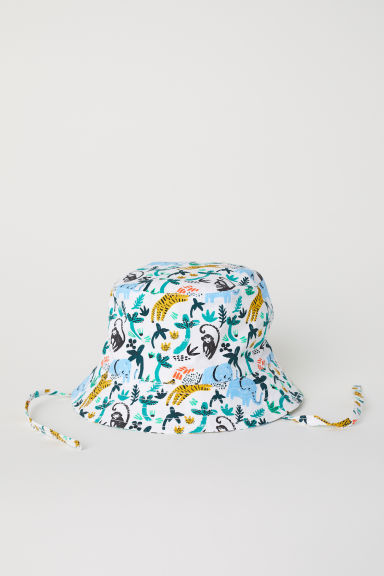 Fisherman's hat - White/Patterned - Kids | H&M CN