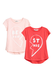 "2-pack ""Best Friends"" Tops"