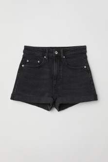 Denim Shorts High Waist