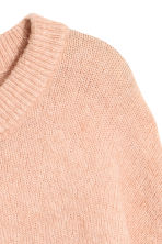 Fine-knit, wool-blend jumper - Powder pink - Ladies | H&M IE 3