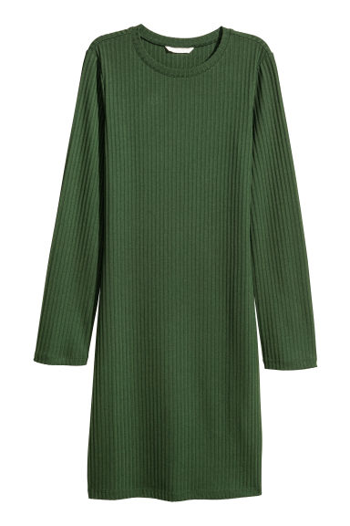 Abito in jersey - Verde scuro - DONNA | H&M IT