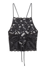 Lace bralette - Black - Ladies | H&M CN 2
