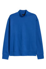 Sweater met turtleneck - Korenblauw - HEREN | H&M BE 2