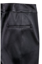 Tailored trousers - Black/Satin - Ladies | H&M IE 3