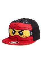 Cap with a motif - Red/Lego - Kids | H&M CN 2