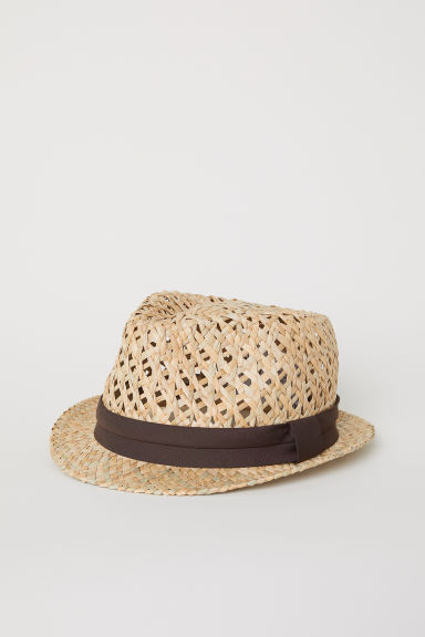 Straw hat - Natural -  | H&M GB