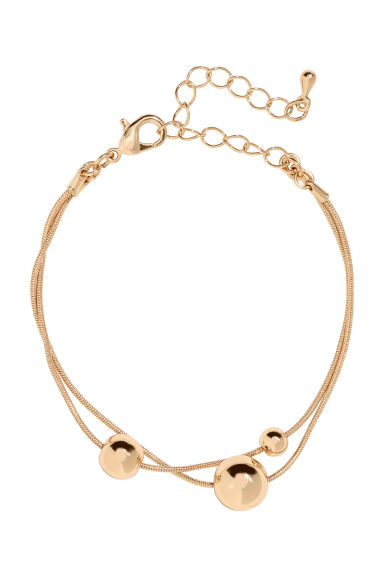 Bracelet - Gold-coloured - Ladies | H&M CN