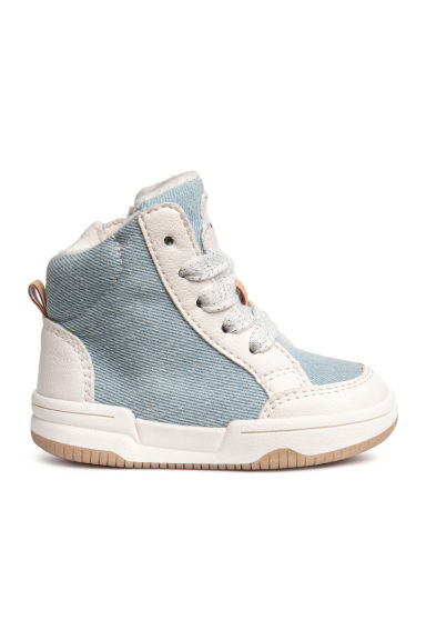 Warm-lined hi-tops - Light denim blue - Kids | H&M