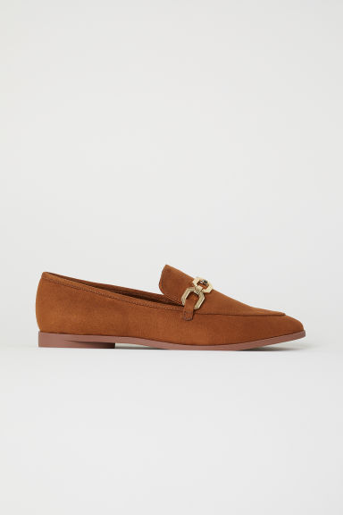 Loafers - Camel - Ladies | H&M GB