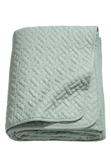 Quilted bedspread single