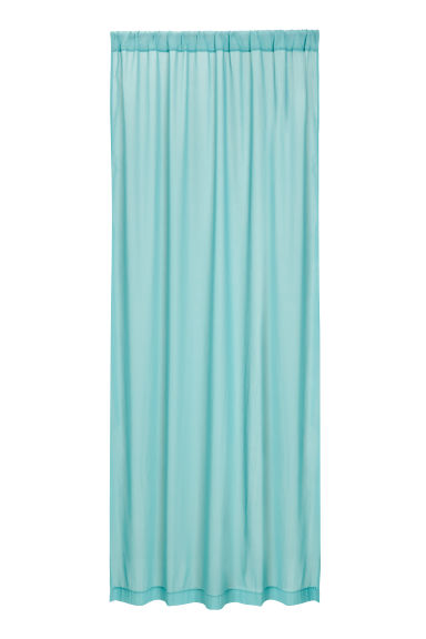 2-pack curtain lengths - Light turquoise -  | H&M CN