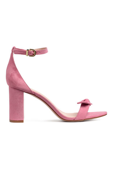 Sandals - Light pink - Ladies | H&M IE
