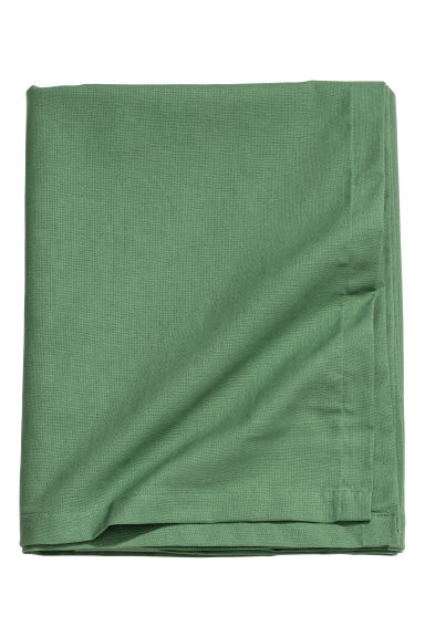 Cotton tablecloth - Green -  | H&M IE