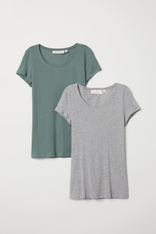 2-pack short-sleeved tops