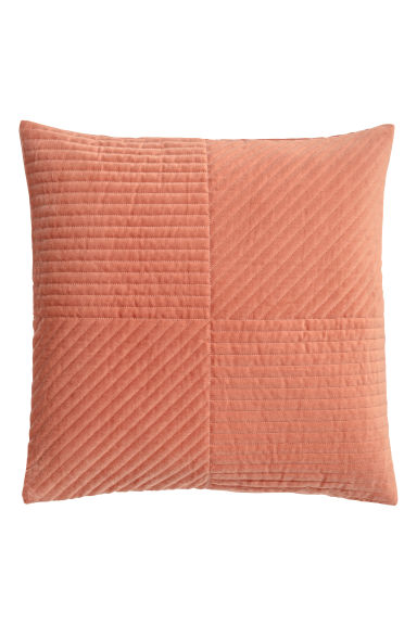 Housse de coussin en velours - Corail - Home All | H&M CA