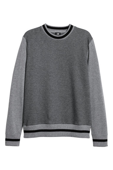 Sweatshirt - Grey -  | H&M GB