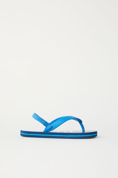 Flip flops - Dark blue/Light blue - Kids | H&M CN