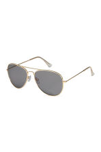 Sunglasses - Gold-coloured - Ladies | H&M CN 2