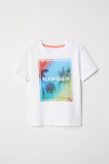 Camiseta con estampado