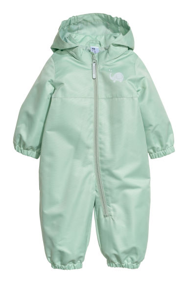 Shell all-in-one suit - Light green -  | H&M