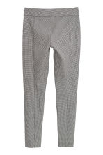 Treggings - White/Black checked - Ladies | H&M 2