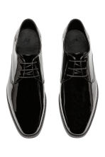 Derby shoes - Black/Patent - Men | H&M IE 1