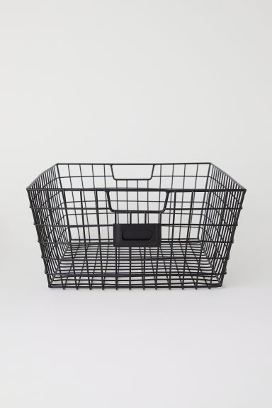 Storage basket - Black - Home All | H&M CN