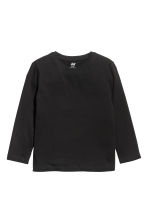 Jersey top - Black - Kids | H&M 2