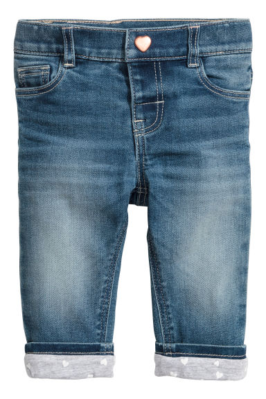Lined jeans - Denim blue - Kids | H&M IE