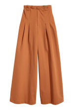 Wide trousers - Terracotta - Ladies | H&M 2