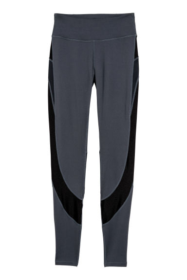 Running tights - Dark blue -  | H&M GB