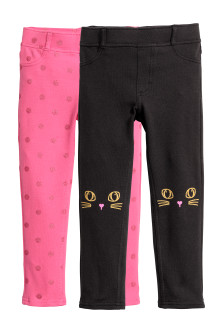 Lot de 2 treggings