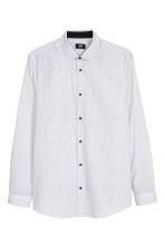 Camicia Slim fit - Bianco/pois - UOMO | H&M IT 2