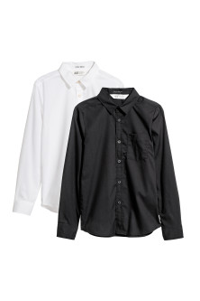 2-pack Easy-iron shirts