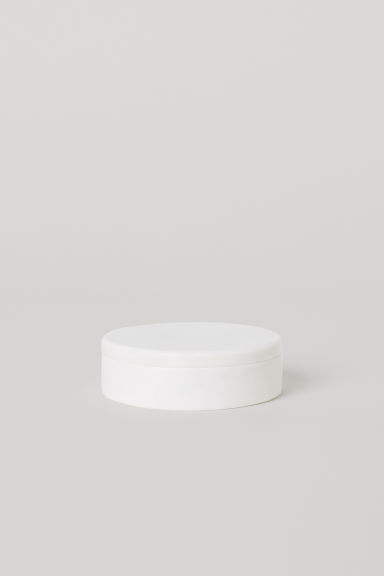 Small marble pot - White/Marble - Home All | H&M CN