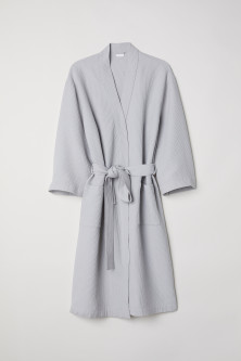 Waffled Bathrobe