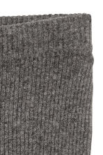 Pull-on cashmere trousers - Dark grey marl - Ladies | H&M CN 3